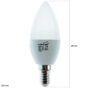 BEC LED 6W/5W E14/E27 [1]