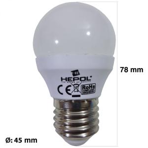 BEC LED E27/E14 5W  HEPOL [1]