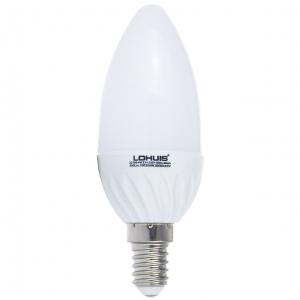 BEC LED LOHUIS,LUMANARE, E14, 4W, 30000 ORE, LUMINA RECE0