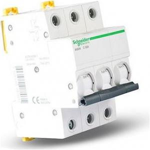 Intrerupator automat modular Schneider Electric iK60 A9K24325, 3P, 25A, curba C1