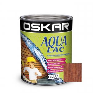 Lac pentru lemn Oskar Aqua Lac, castan, pe baza de apa, interior / exterior, 0.75 L [0]