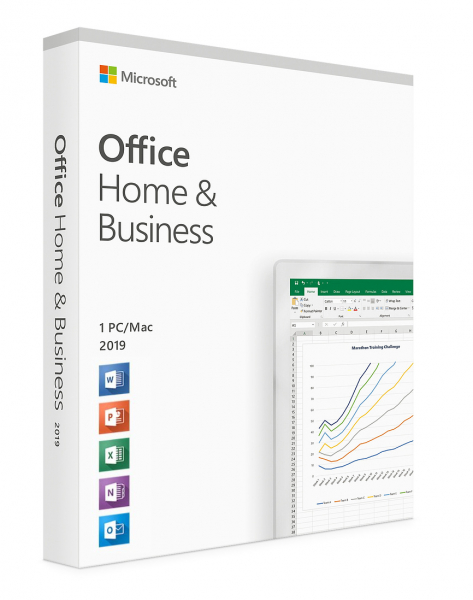 Microsoft Office 2019 Home and Business  - licenta electronica 0