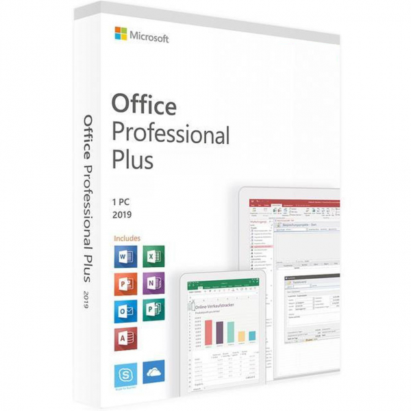 Microsoft Office 2019 Professional Plus RETAIL -  licenta electronica 0