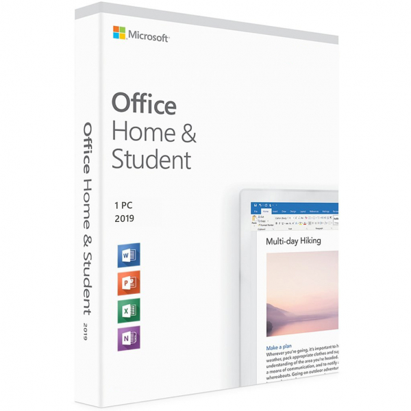 Microsoft Office 2019 Home & Student Retail - licenta electronica 0