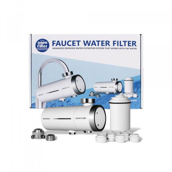 Filtru cu ultrafiltrare si carbon activ Aquafilter pentru robinet FH2018-2-AQ 0