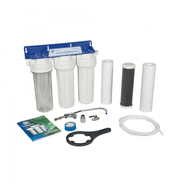 Sistem de microfiltrare al apei in 3 etape Aquafilter FP3-2 0