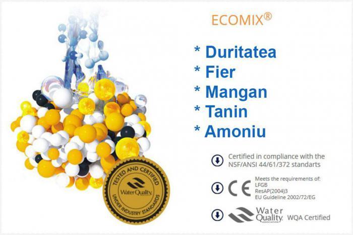 Statie de deferizare cu Ecomix Clack 25CV 1