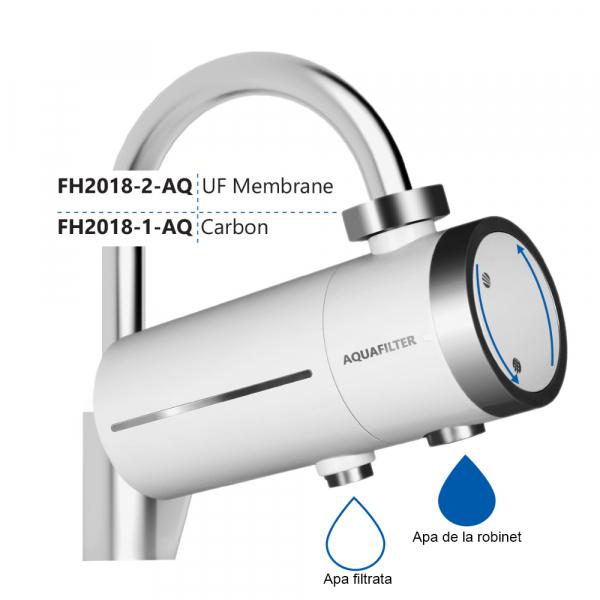 Filtru cu ultrafiltrare si carbon activ Aquafilter pentru robinet FH2018-2-AQ 1