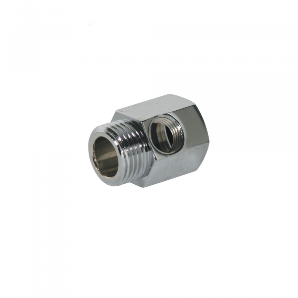 "Adaptor reductie din alama 1/2"" FE - 1/2"" FI - 1/4"" FI - FT06 0"