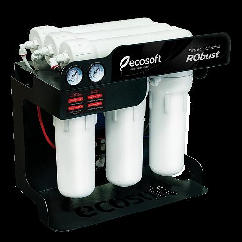 Sistem de filtrare al apei profesional cu osmoza inversa Ecosoft RObust 60 L/h 0