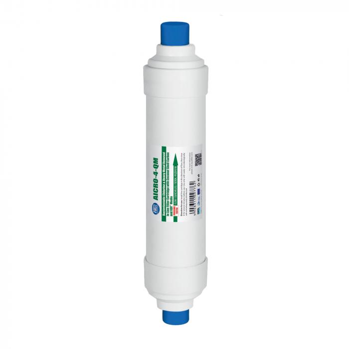 Cartus filtrant Aquafilter In-Line GAC si KDF  AICRO-4-QM [0]