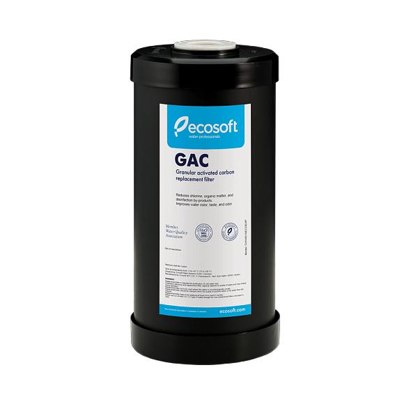 """Cartus filtrant BigBlue 10"""" Ecosoft pentru reducerea hidrogenului sulfurat 0"""