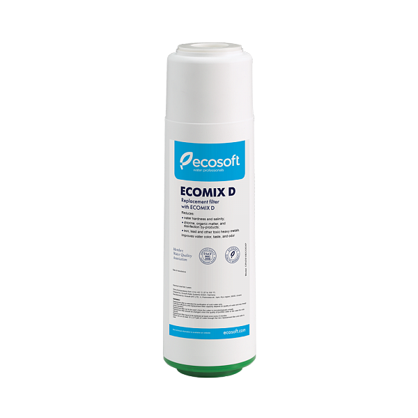 "Cartus filtrant dedurizare / deferizare Ecosoft 10"" Ecomix®"