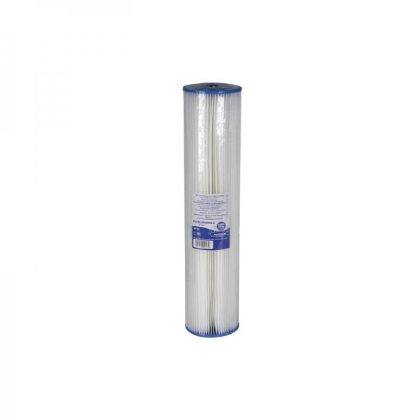 Cartus filtrant lavabil din poliester plisat 10 Aquafilter FCCEL imagine