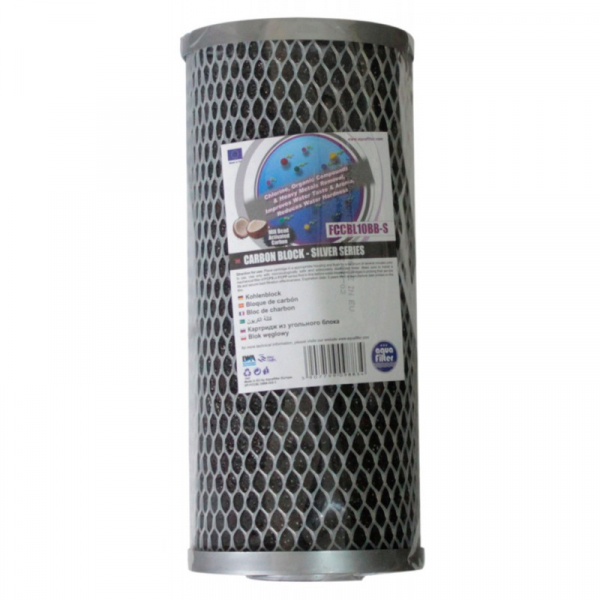 Cartus filtrant mix Carbune Activ Silver BIGBLUE 10'(FCCBL10BB-S) 1