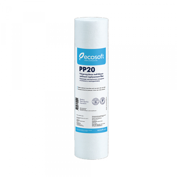 Cartus filtrant polipropilena 10 Ecosoft pentru eliminarea sedimentelor imagine