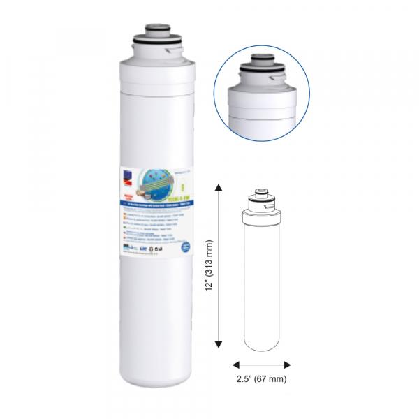 Cartus eliminare sedimente  In-line Aquafilter Twist AIPRO-1M-TW 1