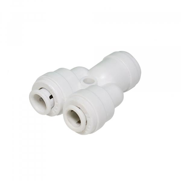 Conector adaptor Y 1 cale 3 8 - 2 cai 3 8 - Quick imagine aqualine.ro