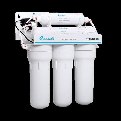 Purificator apa cu osmoza inversa Ecosoft in 6 trepte si pompa booster 2