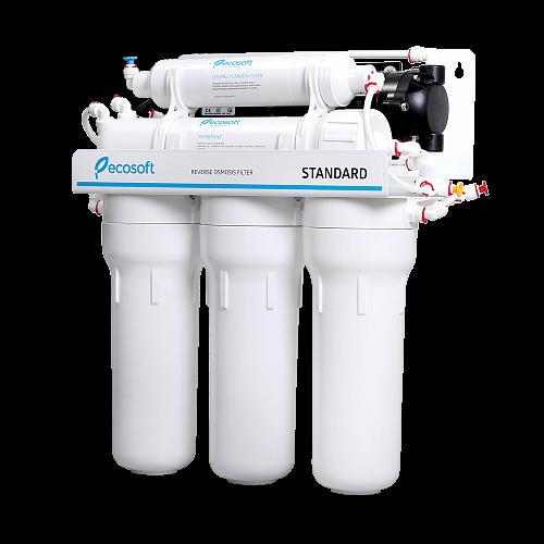 Purificator apa cu osmoza inversa Ecosoft in 6 trepte si pompa booster [4]
