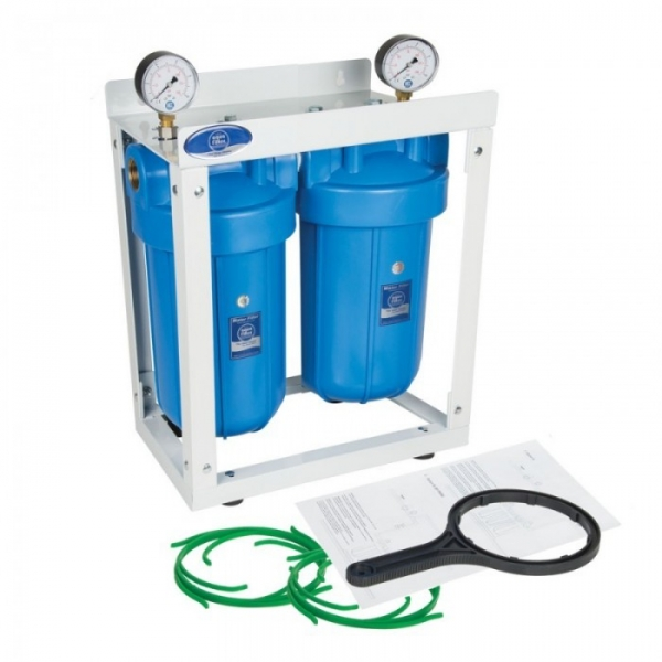"Sistem de filtrare apa Big Blue 10"" duplex 0"