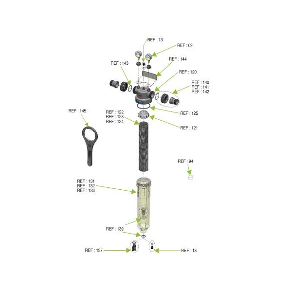 """Filtru Centrifugal Cintropur NW280 1""""  FWCCNW280 2"""