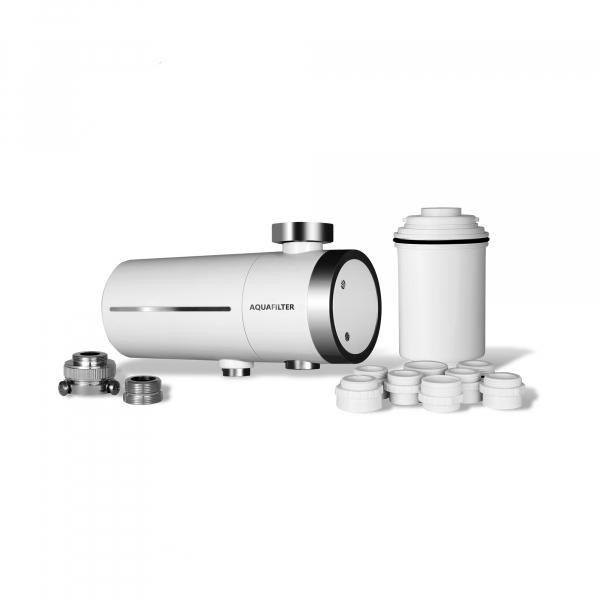 Filtru cu microfiltrare si carbon activ Aquafilter pentru robinet FH2018-1-AQ 0