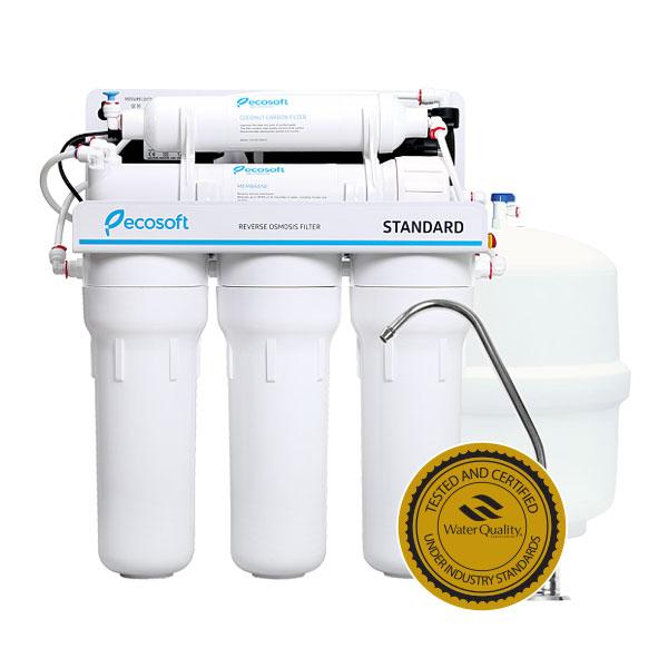 Purificator apa cu osmoza inversa Ecosoft in 5 trepte si pompa booster 0