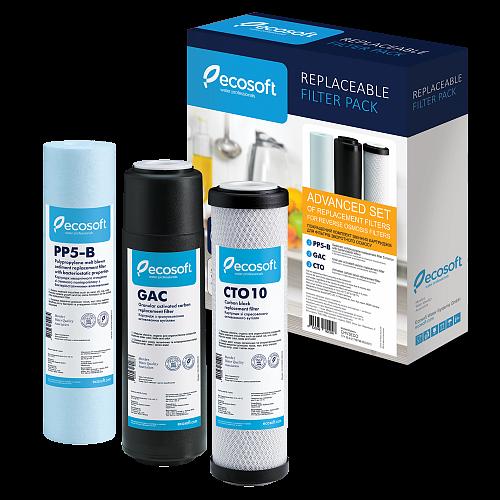 Set 5 filtre de schimb Osmoza Inversa Ecosoft Advance ECO5ADV 3