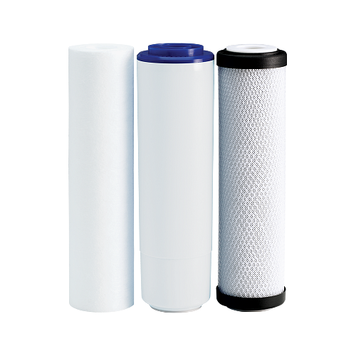 Set filtre de schimb Plus Ecosoft 1-2-3 pentru sisteme de filtrare 1