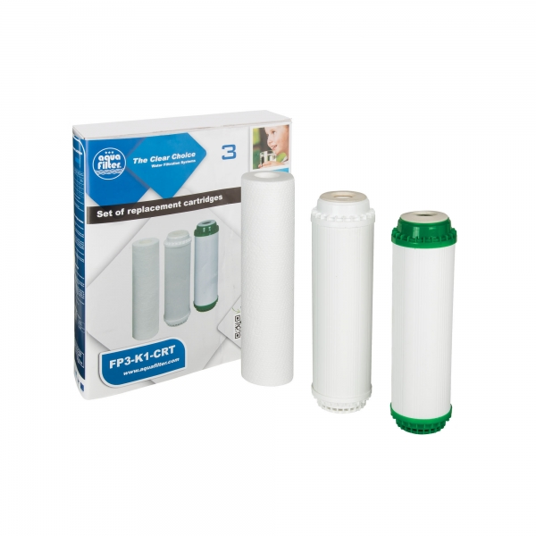 Set cartuse filtrante Aquafilter FP3-K1-CRT imagine aqualine.ro