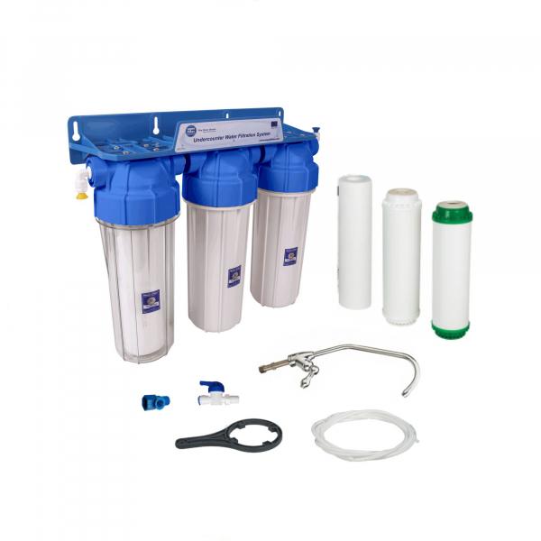 Sistem de filtrare al apei in 3 etape Aquafilter FP3-K1N 0