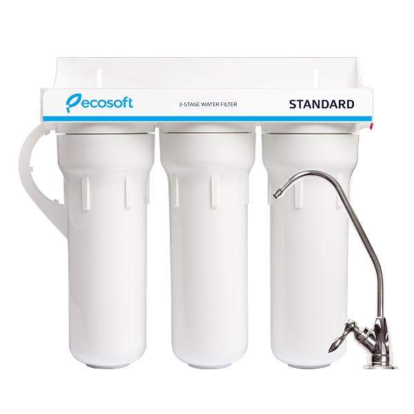 Sistem de microfiltrare al apei in 3 etape Ecosoft FMV3ECOSTD 0