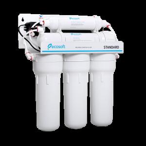 Purificator apa cu osmoza inversa Ecosoft in 5 trepte si pompa booster2