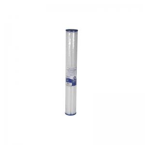 "Cartus filtrant lavabil din poliester plisat 20"" - Long Aquafilter FCCEL-L0"