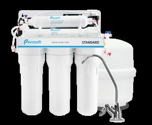 Purificator apa cu osmoza inversa Ecosoft in 6 trepte si pompa booster1