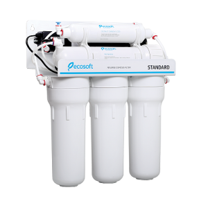 Purificator apa cu osmoza inversa Ecosoft in 6 trepte si pompa booster2