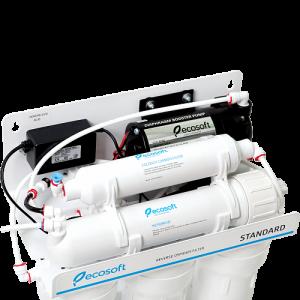 Purificator apa cu osmoza inversa Ecosoft in 6 trepte si pompa booster5