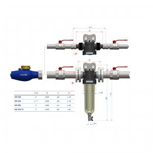 Filtru centrifugal Cintropur NW8002