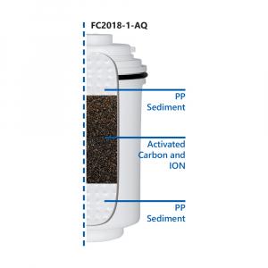 Filtru cu microfiltrare si carbon activ Aquafilter pentru robinet FH2018-1-AQ2