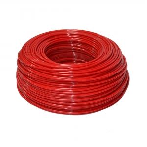 "Furtun flexibil polietilena 1/4"" ( 6 mm ) rosu"