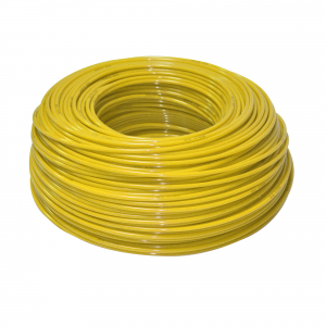 "Furtun flexibil polietilena 1/4"" ( 6 mm ) galben"