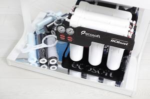 Sistem de filtrare al apei profesional cu osmoza inversa Ecosoft RObust 60 L/h3