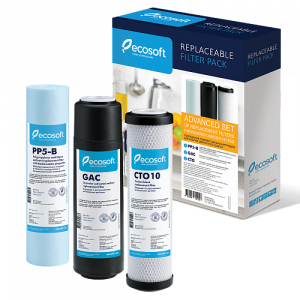 Set 5 filtre de schimb Osmoza Inversa Ecosoft Advance ECO5ADV3