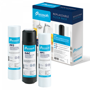 Set filtre de schimb standard Ecosoft 1-2-3 pentru sisteme de filtrare1