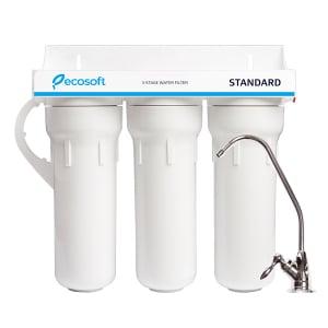 Sistem de microfiltrare al apei in 3 etape Ecosoft FMV3ECOSTD0