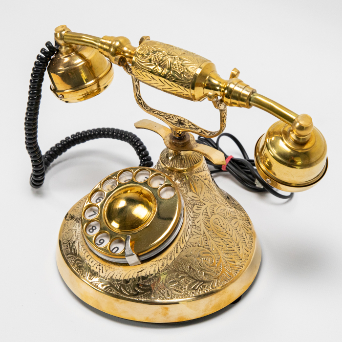 "Telefon vintage din alama ''Bronze"" [1]"