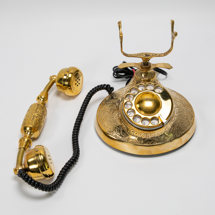 "Telefon vintage din alama ''Bronze"" [5]"
