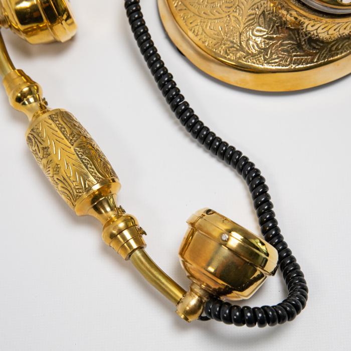 "Telefon vintage din alama ''Bronze"" [3]"