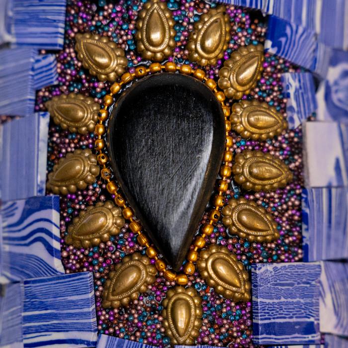 Set din cupru Lapis Lazuli [8]